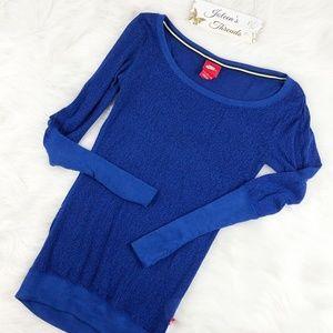 Nike Blue Long Sleeve T-Shirt